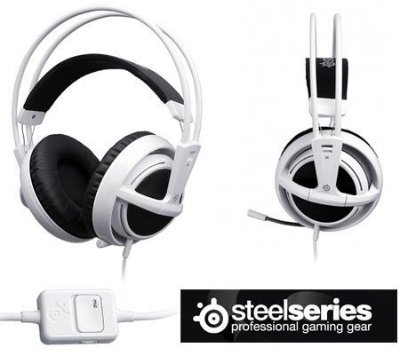 Headset Steelseries Siberia V2 Branco