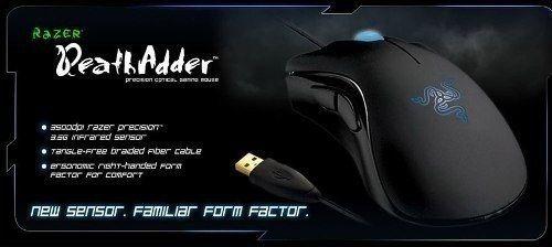 Mouse Razer Deathadder 3500dpi 3.5g Azul