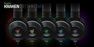 Headset Razer Kraken 7.1 Chroma