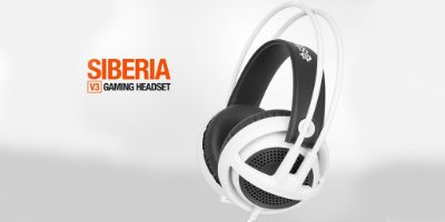 Headset Steelseries Siberia V3 Branco