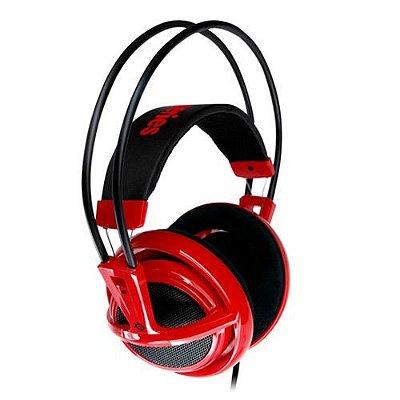 Headset Steelseries Siberia V2 Vermelho