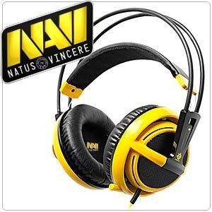 Headset Steelseries Siberia V2 NaVi Amarelo