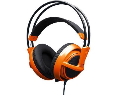 Headset Steelseries Siberia V2 Laranja
