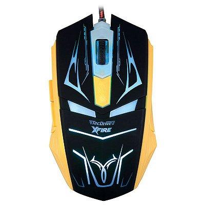 Mouse TecDrive Xfire Neith 3200dpi 7 Botões