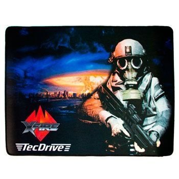 Mousepad TecDrive Xfire Nuclear Strike City