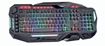 Teclado Gamer TecDrive XFire Bifrost USB Multicolor