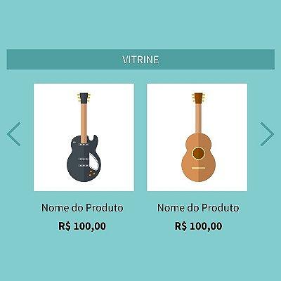 Vitrine rotativa de produtos