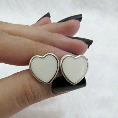 Brinco cute, love, off white, new collection - REF B051