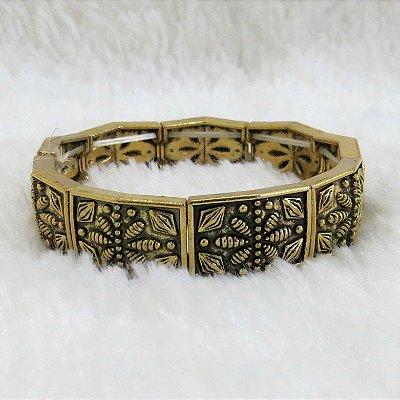 Pulseira bracelete tai, dourada - REF P103