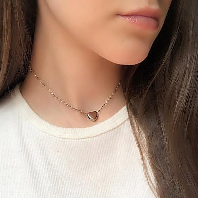 Choker doha, little love, prateada#