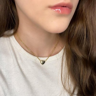 Choker doha, little love, dourada - REF C010