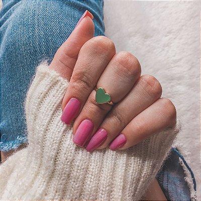 Anel de falange, cute love, dourado - REF F058
