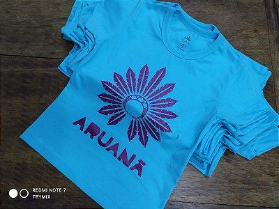 Camiseta Tribos Terenas (Azul Céu)