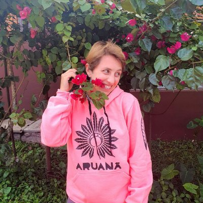 Moletom Rosa Neon com Preto