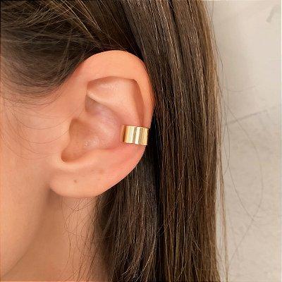 Piercing Fake Liso Banhado a Ouro 18k