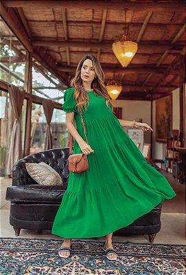 Vestido Linho Solto