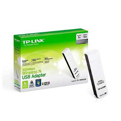 ADAPTADOR USB WIRELESS TP-LINK TL-WN821N 300MBPS