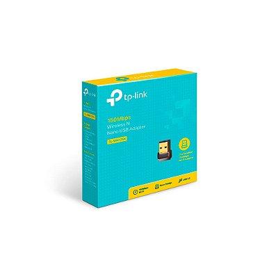 ADAPTADOR USB WIRELESS TP-LINK USB 150MBPS NANO TL-WN725N