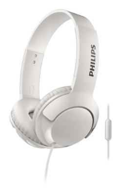 Headphone Philips SHL3075WT com Microfone Branco
