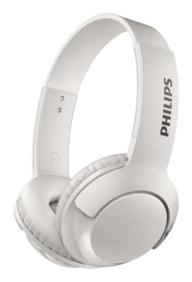 Headphone Philips SHB3075WT Bluetooth Branco