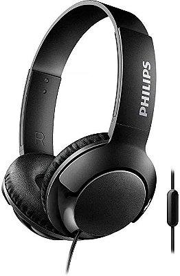 Headphone Philips SHL3075 com Microfone Preto