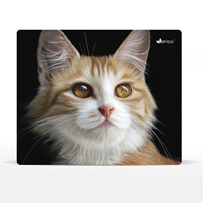 Mouse pad em pvc gato