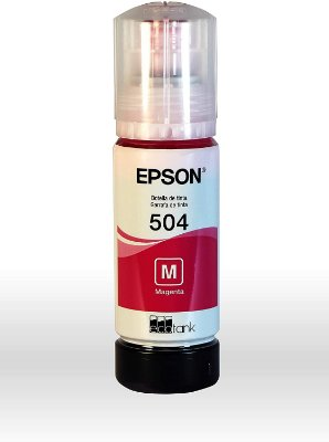 REFIL TINTA EPSON 504 ECO TANK MAGENTA T504320