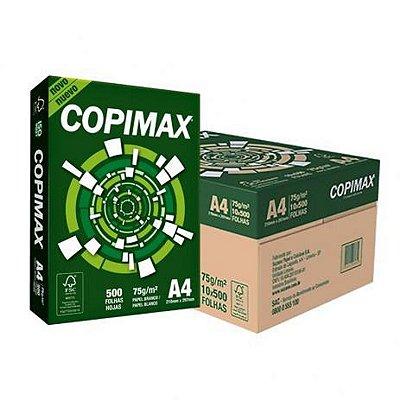 Papel A4 75g/m² Copimax 10 PCT com 500fls- Suzano