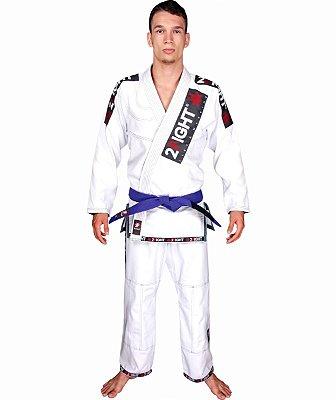 Kimono BJJ - linha SLIM cor Branco
