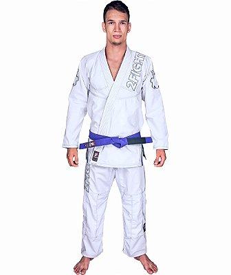Kimono BJJ - linha SLIM Rip Stop cor Branco