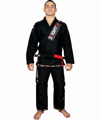 Kimono BJJ - linha SUPER cor Preto