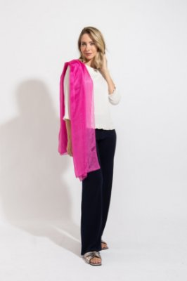 Xale Silk Pink
