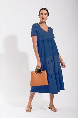 Vestido Cleo Azul