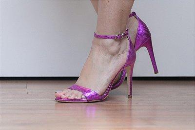 Sandália fucsia