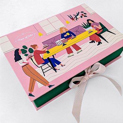 Caixa de 24 doces - Estampada