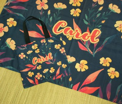 Kit Personalizado - Canga + Ecobag