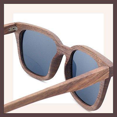 Óculos de Madeira - Lente Polarizada de Alta Qualidade