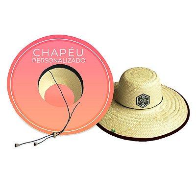 Chapéu de Palha Personalizado 99Praia