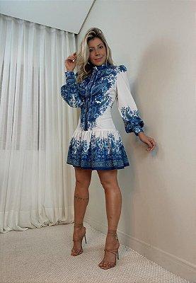Vestido Estampado Isa Baldo