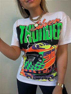 T-shirt Turbo Branca