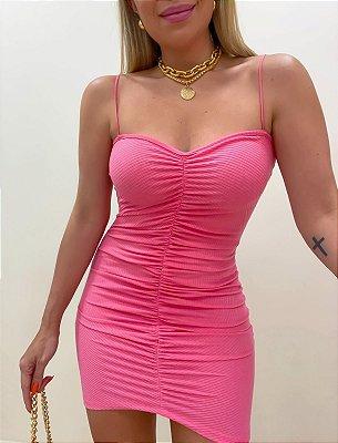 Vestido Las Vegas Rosa