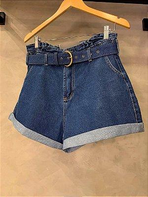 Shorts Jeans Cinto Isa Baldo