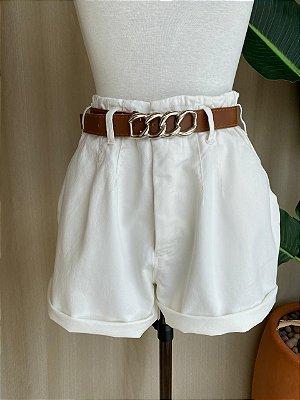 Shorts Jeans Isa Baldo Off White