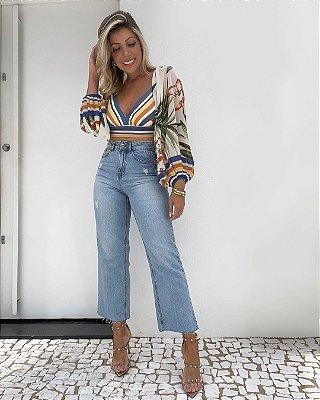 Calça Jeans Capri Isa Baldo