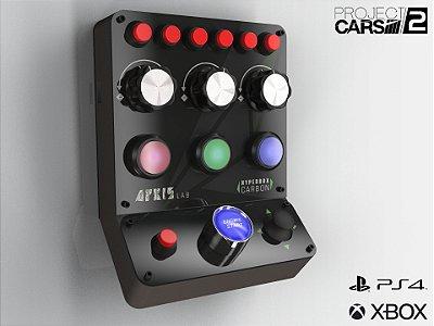 HYPERBOX Carbon Project Cars 2 consoles com suporte