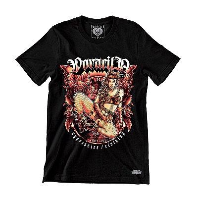 Camiseta Girl Darkness - Voracity