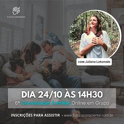 """6ª CONSTELAÇÃO FAMILIAR ONLINE em GRUPO - """"INSCRIÇÃO SOMENTE PARA ASSISTIR"""""""