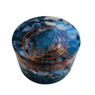 ORGONITE - GRANADA DE SODALITA - Ø 5,5 CM X 3 CM