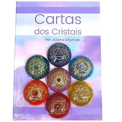 CARTAS DOS CRISTAIS e ORGONITES 7 CHAKRAS