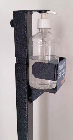 Dispenser para álcool em gel com acionamento por pedal